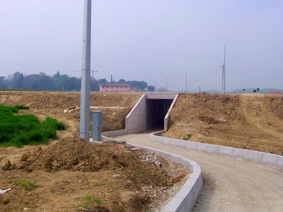 Costruzione Strada Provinciale a Forlimpopoli